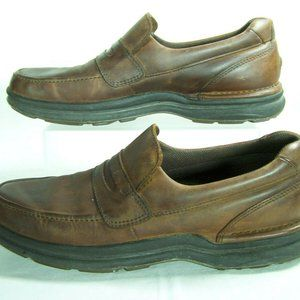 Rockport MW527M Loafers Leather Casual Stretch